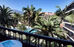 Panoramic view Coral Teide Mar Hotel